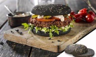 Булочка для гамбургера Черная