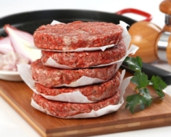 Котлета для гамбургера говяжья